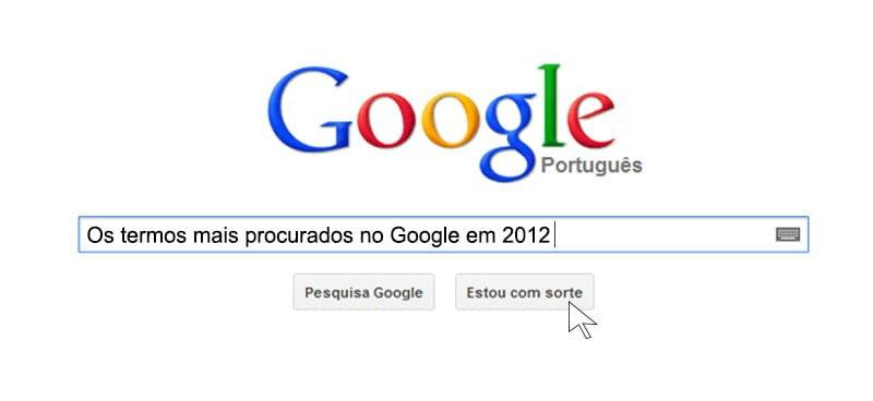 Principais pesquisas no Google em 2012