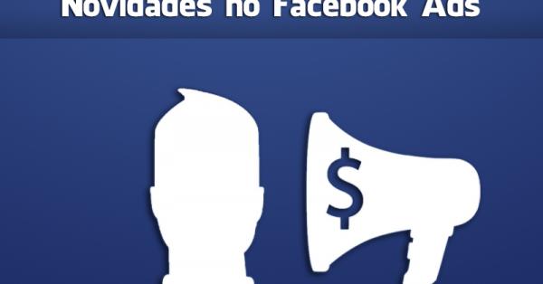 novidades no facebook ads
