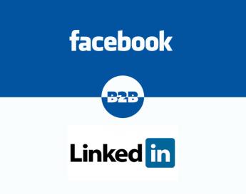Segmentação B2B: Campanhas de links patrocinados no LinkedIn e Facebook