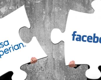 Duas peças de quebra-cabeça, sendo destacadas uma da outra | Facebook encerra parceria com o Serasa
