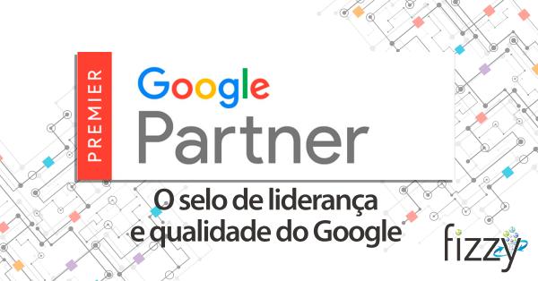 google partner capa de blog fizzy | A Fizzy é Google Partner Premier. Mas o que significa isso?